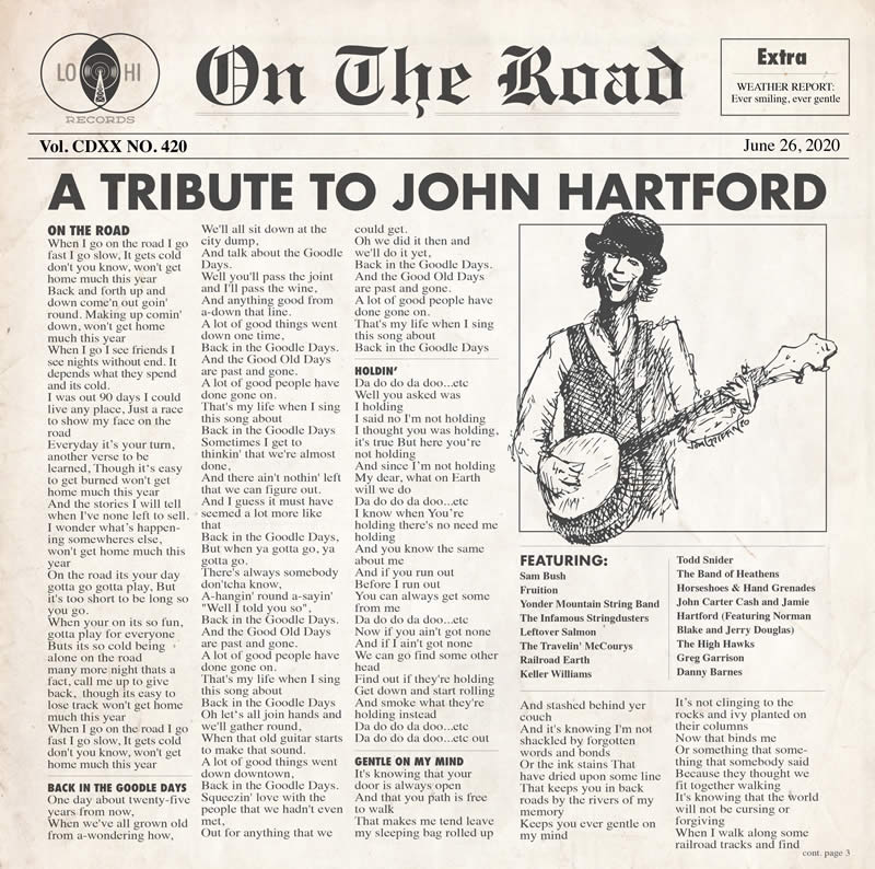 On The Road: A John Hartford Tribute album cover