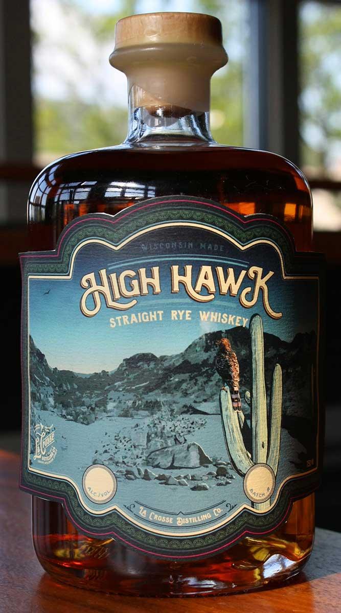 The High Hawks Whiskey La Crosse