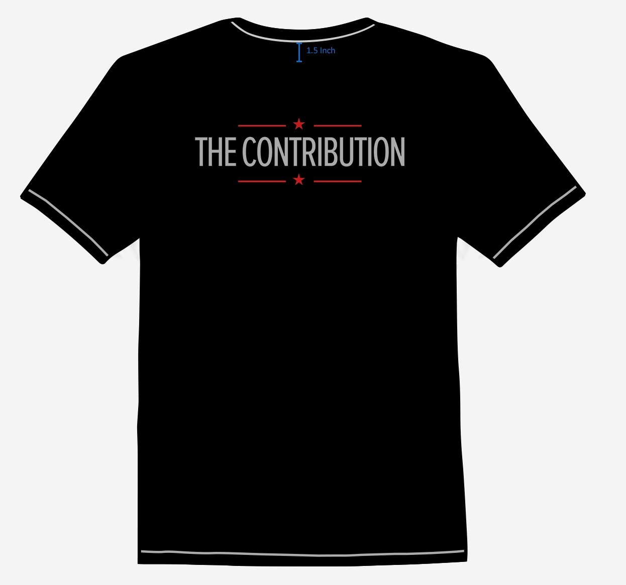 The Contribution Shirt back