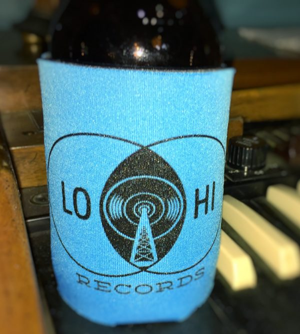 LoHi Records merch coozie