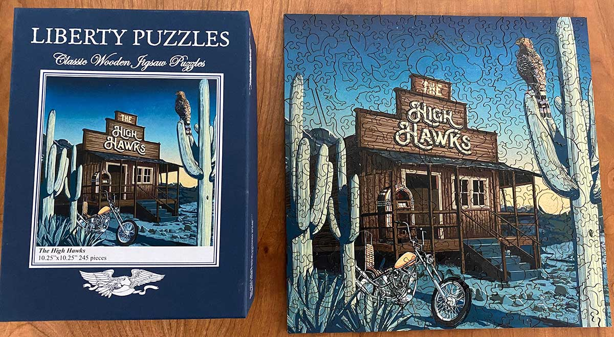 The High Hawks puzzle